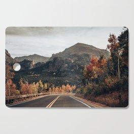 Fall Road in Colorado Cutting Board