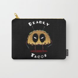 Deadly Tacos Carry-All Pouch