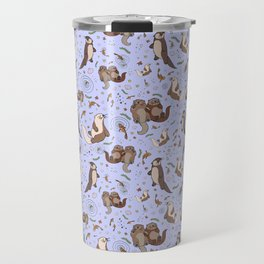 Sea Otters Travel Mug
