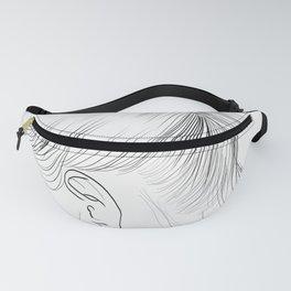 Fashion Illustration Hairdo Bridal Updo Hair Style Drawing Line Art Fanny Pack