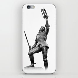 Richard The Third Leicester iPhone Skin