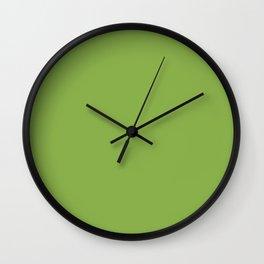 PANTONE Greenery - 2017 Color of the Year Wall Clock