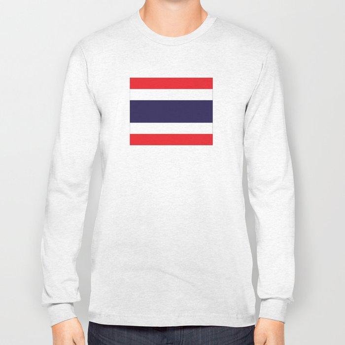 flag of thailand 2 -thailand,Siam,thai,siamese,bangkok. Long Sleeve T-shirt
