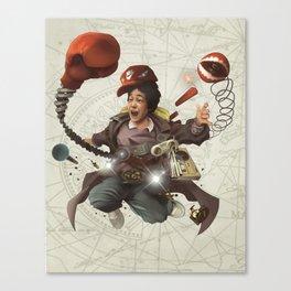 The Goonies Data Canvas Print
