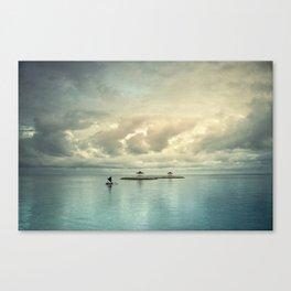 the art of silence Canvas Print