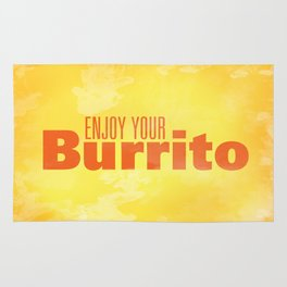 Enjoy Your Burrito Nerdist Rug