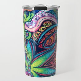 Trippy Weed Travel Mug