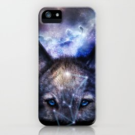 Dream of Alpha Lupi [Nightfall version] iPhone Case