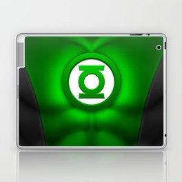 Green Lantern: Superhero Art Laptop & iPad Skin