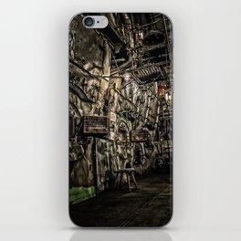 The Boiler Room iPhone Skin