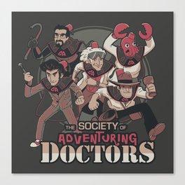 Society of Adventuring Doctors Canvas Print