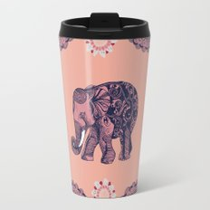 Bohemian Elephant  Travel Mug