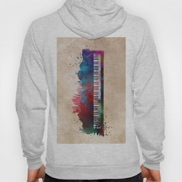 keyboard art #keyboard #piano Hoody