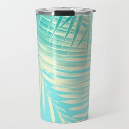 Palm Leaves Summer Vibes #4 #tropical #decor #art #society6 Travel Mug