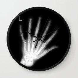 Extra Digit X-Ray Wall Clock