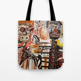 A vectorised Basquiat Tote Bag