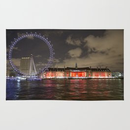 Eye of London and County Hall Rug