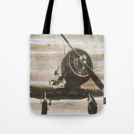 Old airplane 2 Tote Bag
