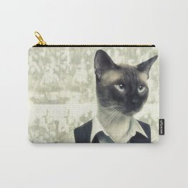 Fancy Cat Carry-All Pouch