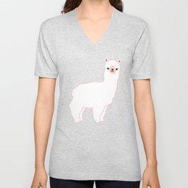 The Alpacas II Unisex V-Neck