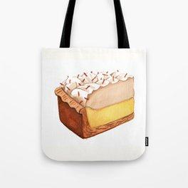 Coconut Cream Pie Slice Tote Bag