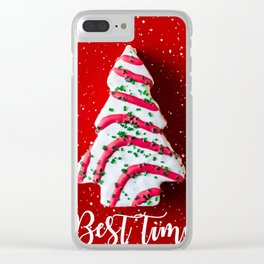 Best time of the year Clear iPhone Case