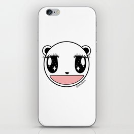 Ecstatic Happy Face iPhone Skin
