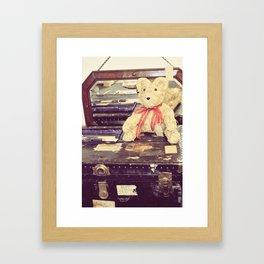 Vintage Bear Framed Art Print