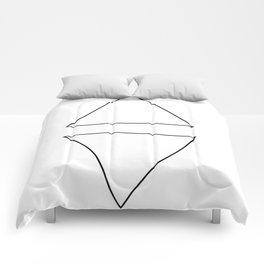 Triangle Twist  Comforters