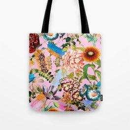 SUMMER BOTANICAL IX Tote Bag