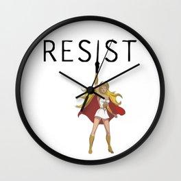 She-Ra says RESIST Wall Clock