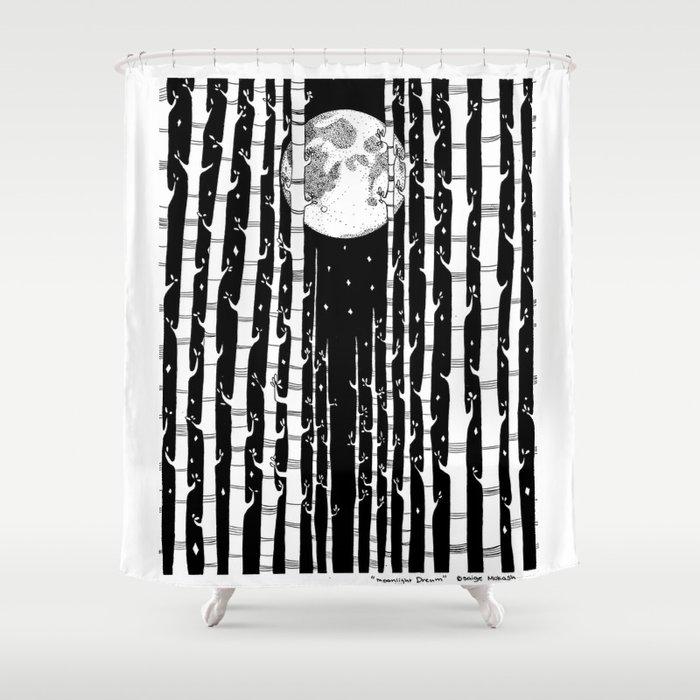 MoonLight Dream Shower Curtain
