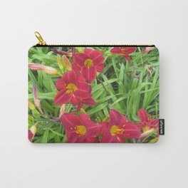 Follow the Trail of Flowers Carry-All Pouch