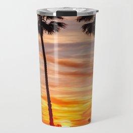 Santa Monica Sunset Travel Mug