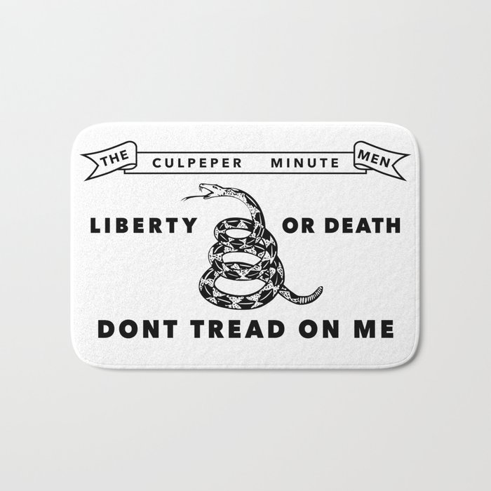 Culpeper Minutemen Flag - Authentic High Quality Bath Mat