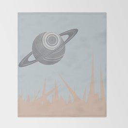 """Saturn Returns"" Throw Blanket"