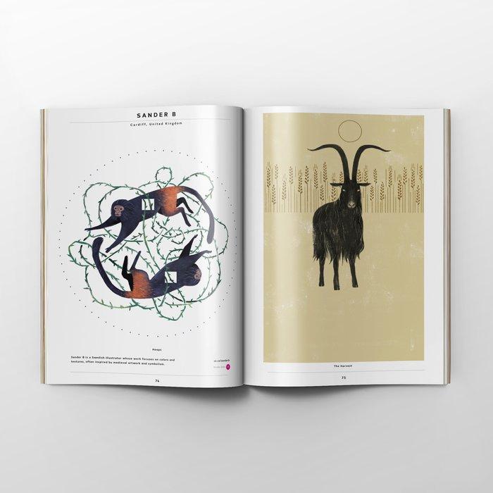 Society6 Art Quarterly No.3.2 + Flipside Art Zine by Society6 Editions