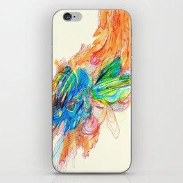 Falling Down Flowers iPhone Skin
