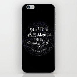 Lila Bard - Die On An Adventure iPhone Skin
