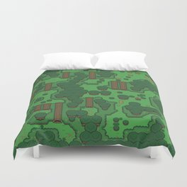 Gamers Have Hearts - The Lost Link Duvet Cover