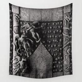 Cave Canem - Wall of Skulls Wall Tapestry