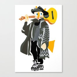 Guitar Totty Canvas Print