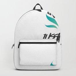 Jussapplaud Logo Backpack