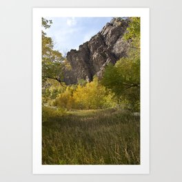 Autumn Mountains Art Print