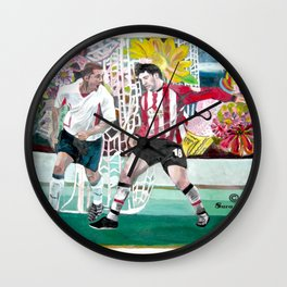 football Enthusiasm Wall Clock