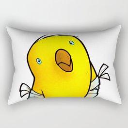 Broken Winged Bird Rectangular Pillow
