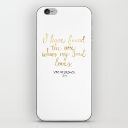 Song of Solomon 3:4 - Customer Request iPhone Skin