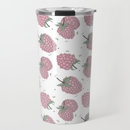 Pink raspberry Travel Mug