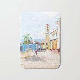 43. Colorful Trinidad, Cuba Bath Mat