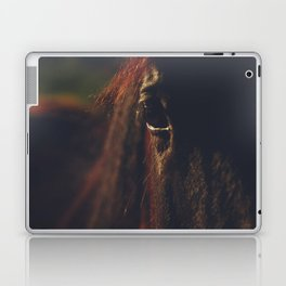 Horse photography, high quality, nature landscape fine art print Laptop & iPad Skin